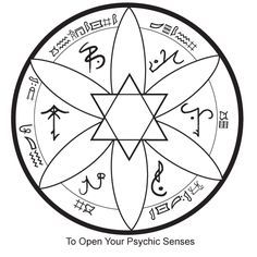 The Witches Collective: Psychic Sigil/do not attempt, unless prepared to face consequences if things go wrong/looking into mirrors for anything other than intended use is dangerous Welsh Symbols, Rune Symbols, Symbols And Meanings, Wiccan Spells, Magick, Witchcraft, Mystic Symbols, Shadow Tattoo, Seal Of Solomon