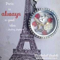 A Paris inspired locket