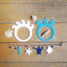 Napkin rings and bracelet