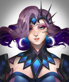 Surrender to my will!: Photo <<< love this art of her Overwatch Video Game, Overwatch Memes, Overwatch Fan Art, Beautiful Fantasy Art, Beautiful Anime Girl, Pretty Art, Cute Art, Game Character, Character Design