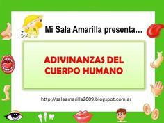 ADIVINANZAS  DEL CUERPO HUMANO by SALAAMARILLA via authorSTREAM
