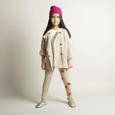 Adorable girls' leggings that they can design themselves!