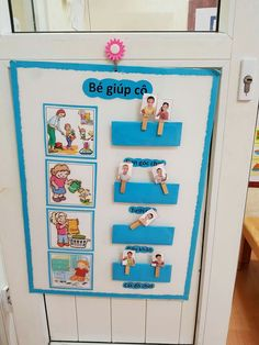 Classroom Decor, Preschool Activities, Decoration, Kids Toys, Projects To Try, Gallery Wall, Education, Children, Calendar