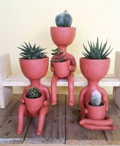 Garden Types, Garden Art, Garden Design, Ceramic Pottery, Pottery Art, Ceramic Art, Clay Projects, Clay Crafts, Arts And Crafts