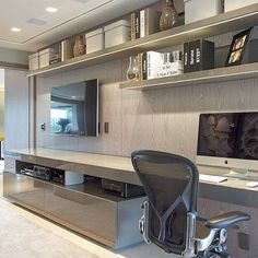 Trendy home office storage minimalist Home Office Storage, Home Office Design, Home Office Decor, Office Style, Office Decorations, Office Designs, Office Ideas, Minimalist Furniture, Minimalist Home Decor