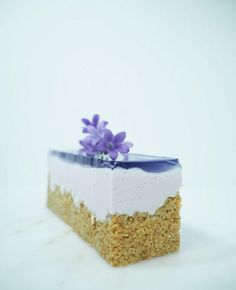 `fake` blåbær cheesecake crumbsbytanja   Bloggers Delight