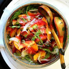 Nectarine and Fennel Salad | Veggies, Salads and Sides | Pinterest ...