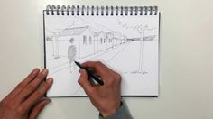 Linescapes: How to draw one point perspective