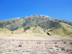 one of small mountains surrounding