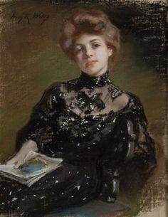 Irving Ramsey Wiles, A Young Woman