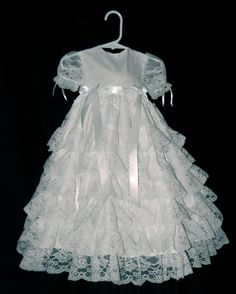 Lacey Christening Gown / Blessing Gown by Debragardner