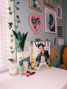 Room Design Bedroom, Room Ideas Bedroom, Bedroom Decor, Bedroom Inspo, Cute Room Ideas, Cute Room Decor, One Direction Room, Indie Room, Pretty Room