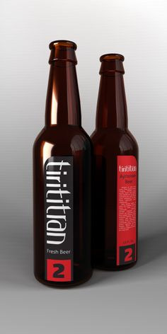 Tirititran Beer by Zsolt Már, via Behance