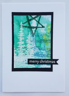 So I've been away from crafting because the parents are staying but yesterday I got some crafting done and made a start on the Christmas cards the parents have requested. So be prepared for a…