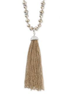 Sparkle adds a dressed up feel to the vintage Milana gold tassel necklace from Stella & Dot.  Find fashion necklaces, trendy necklaces, pendants & more.