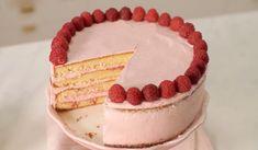 Meringue Suisse, Babyshower, Gateaux Cake, Amazing Cakes, Vanilla Cake, Tiramisu, Bakery, Cheesecake, Ethnic Recipes