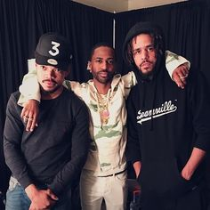 J cole big sean chance the rapper
