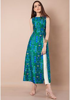 15 Latest And Modern Silk Kurtis For Women is part of Dresses - Silk kurtis are very comfortable to wear and can be paired with leggings or palazzos Here are the 9 best silk kurta designs for women in India Silk Kurti Designs, Salwar Designs, Kurta Designs Women, Kurti Designs Party Wear, Indian Kurtis Designs, Printed Kurti Designs, Stylish Dress Designs, Dress Neck Designs, Designs For Dresses