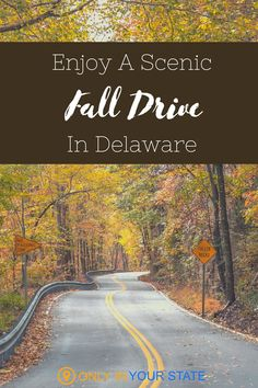 Enjoy beautiful fall foliage on this scenic 40-mile drive through Delaware! You'll also appreciate the historic homes, museums, and river crossings along the route. Make a day trip out of it! | Family Friendly | Things To Do | Local Travel Family Road Trips, Family Travel, Weekend Activities, Back Road, Local Attractions, Haunted Places, Historic Homes, Delaware, Cape Cod
