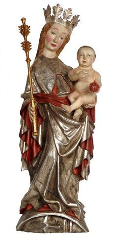 Beautiful Madonna of Knurów by Anonymous from Lesser Poland, ca. 1420, Muzeum…