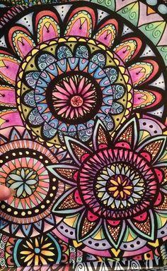 ColorIt Calming Doodles Volume 1 Colorist: Cynthia Sikes #adultcoloring #coloringforadults #adultcoloringpages #doodle