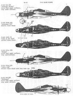 P-61 Black Widow Northrop ~ BFD