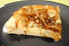 Pear Gorgonzola Pizza with Bacon