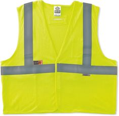 Workplace Safety Supplies High Visibility Safety Work Vest Breathable Mesh Vest Crease-Resistance