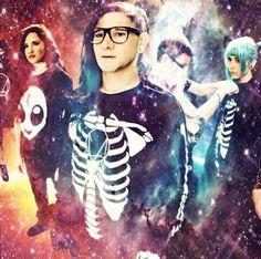 Skrillex Galaxy