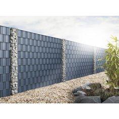 Gabionen Säule Rubin quadratisch 270 x 270 mm