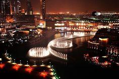 The Amazing Dubai Fountain