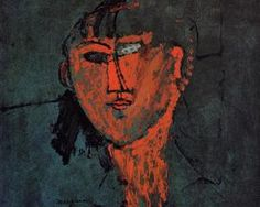 A Head - Amedeo Modigliani