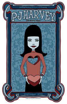Tara McPherson | ART Posters 2003 PJ Harvey, Morris Tepper