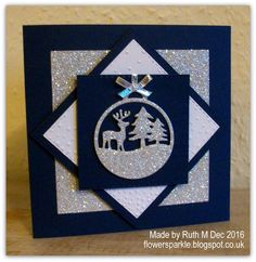 Deer & Trees Ornament Christmas Cards Contact us for custom printing services Christmas Card Crafts, Homemade Christmas Cards, Christmas Cards To Make, Xmas Cards, Homemade Cards, Handmade Christmas, Embossed Christmas Cards, Beautiful Christmas Cards, Christmas Wishes