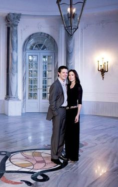 HRH Crown Prince Frederik & HRH Crown Princess Mary of Denmark