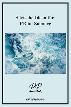 PR - Was kannst du im Sommer tun, um das Sommerloch zu überbrücken? #pr #publicrelations Influencer Marketing, Public Relations, Content Marketing, Movie Posters, Press Release, Authors, Blogging, Things To Do, Word Reading