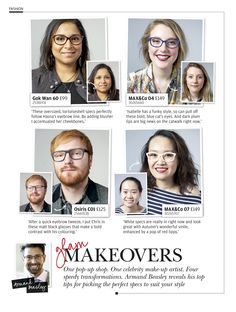 Discover how to get these great looks by celebrity make-up artist Armand Beasley.
