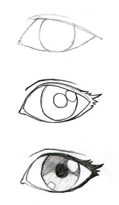 How to draw more realistic eye