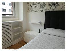 SOCRATES: Dormitorio en blanco y negro Bedroom, Furniture, Home Decor, Black White Bedrooms, White Cabinets, Master Bedroom Design, Headboards, Cover, Decoration Home