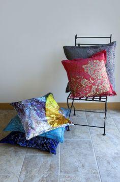 Tucker & Bojest Botanics and Abstract Cushions (2)