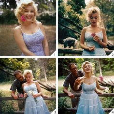 Marilyn Monroe and Arthur Miller. Photos by Sam Shaw, Fotos Marilyn Monroe, Marilyn Monroe Style, Pretty People, Beautiful People, Marilyn Moroe, Janet Jackson, Connecticut, Estilo Pin Up, Poses