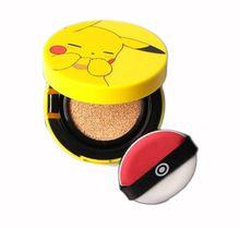 ZANABILI Corea Original Pokemon Pikachu Mini Fundas de Colchón Colchón de Aire BB Cream SPF50 PA + + Blanqueamiento Impecable Sunscree Maquillaje(China (Mainland))