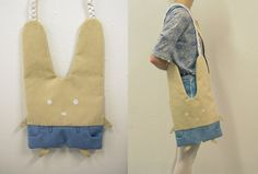 Bunny Bag with pants by vannesdesigns on Etsy