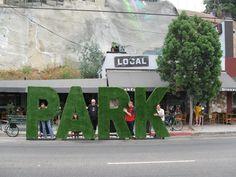 de lab - LA Park(ing) Day