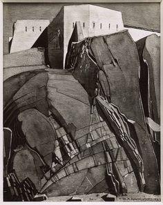 Le Fort Maillert by Charles Rennie Mackintosh Art Gallery, Art Works, Artist Inspiration, Charles Rennie Mackintosh, Black N White Images, Glasgow School Of Art, Mackintosh, Art, Arts And Crafts Movement