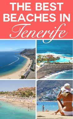 Best beaches and luxury beach clubs in Tenerife for soaking up the sun. Tenerife is famed for its year round sun, but there are also a number of upscale beach clubs and more than 50 beaches to choose from which make Tenerife one of the most stylish travel destinations you should be adding to your list of travel ideas.  #Tenerife #BeachBreaks