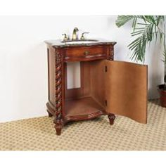 @Overstock - This single sink vanity is perfect for your next bathroom remodel. Featuring classic detailing, this traditional furniture piece brings elegance to any home.    http://www.overstock.com/Home-Garden/Granite-Top-26-inch-Single-Sink-Bathroom-Vanity/5971006/product.html?CID=214117 $565.20