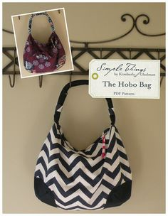 The Hobo Bag - PDF Pattern — Simple Things
