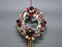 Boże Narodzenie-dekoracje świąteczne-wianek świąte