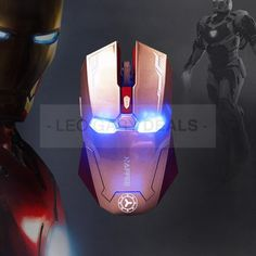 Iron Man Mouse ...I need this!